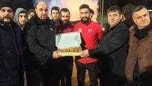 Kulüpler Birliğin den Arslanbey Organize Sanayi Spor a Ziyaret