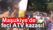 Maşukiye'de ATV kazası!