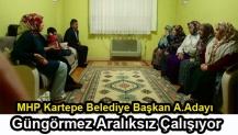 MHP Kartepe Belediye Başkan A.Adayı Güngörmez Aralıksız Çalışıyor