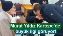 Murat Yıldız Kartepe'de büyük ilgi görüyor!