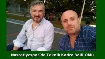 Nusretiyespor'da Teknik Kadro Belli Oldu