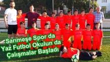 Sarımeşe Spor da Yaz Futbol Okulun da Çalışmalar Başladı