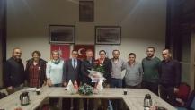 Uzuntarla Trabzonlular Derneği'nden Ayar ve yönetimine hayırlı olsun ziyareti