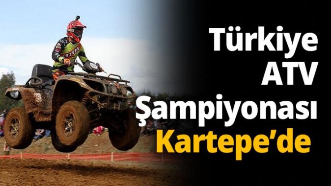 Türkiye ATV Şampiyonası Kartepe'de
