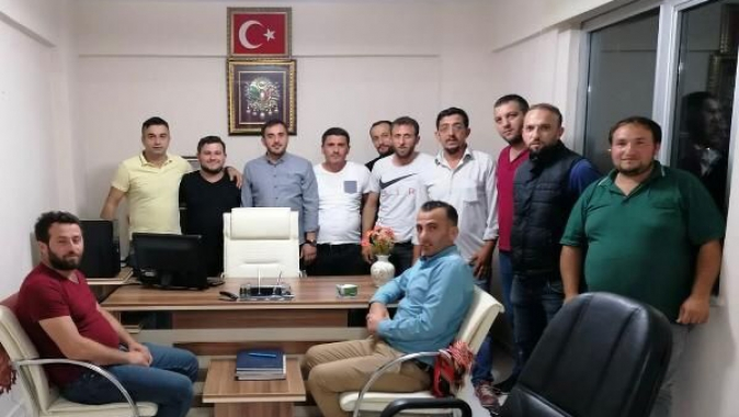 Uzuntarla Trabzonlular Derneğinde yeni başkan Fatih Bektaş