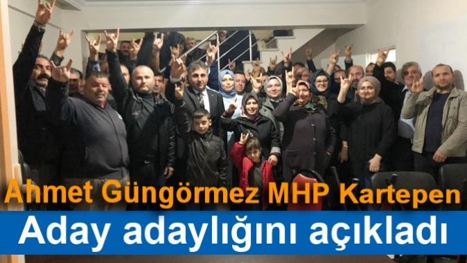 Ahmet Güngörmez MHP Kartepe Belediyesi Aday adaylığını açıkladı