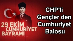 CHP'li Gençler den Cumhuriyet Balosu
