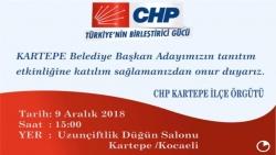 CHP Kartepe adayını tanıtıyor