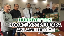 HÜRRİYET'TEN KOCAELİSPOR'LULARA ANLAMLI HEDİYE