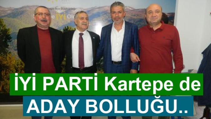 İYİ PARTİ Kartepe'de ADAY BOLLUĞU..
