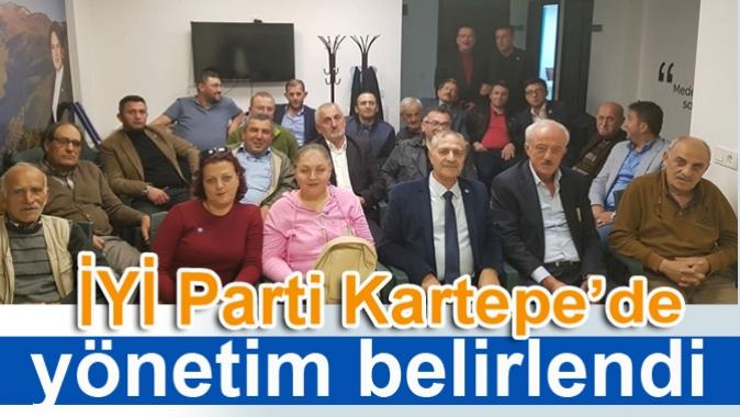 İYİ Parti Kartepe'de yönetim belirlendi