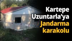 Kartepe Uzuntarla'ya Jandarma karakolu