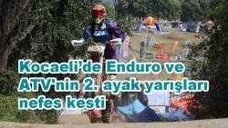 Kocaeli'de Enduro ve ATV'nin 2. ayak yarışları nefes kesti