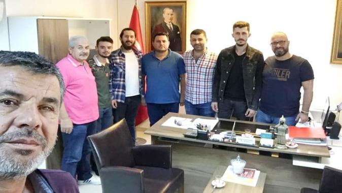 Köseköy gençliği Fatih Güleryüz için seferber oldu